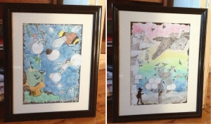 Margo Humphries Framed Today Fairies & Night Stalkers at Dusk