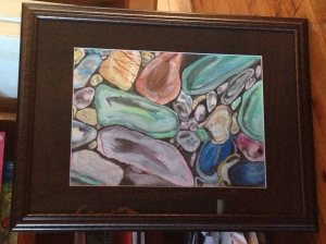 Margo Humphries Framed Today Gemstones