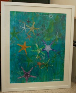 Margo Humphries Framed Today Starfish