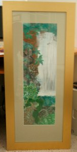 Margo Humphries Framed Today Waterfall