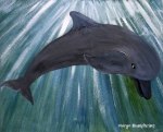 Dolphin by Margo Humphries | ORIGINAL SOLD