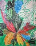 Flowers - vivid by Margo Humphries