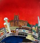 """Newcastle - vivid"" by Margo Humphries specifically commissioned for Newcastle University Choir's new CD in 2013!"