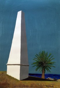 Newcastle Obelisk by Margo Humphries