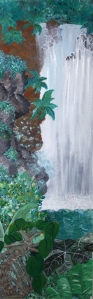 Waterfall by Margo Humphries