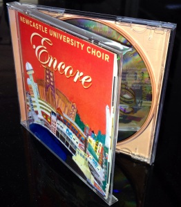 photo of newcastle university choir cd margo humphries cover art