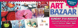 Art bazaar maitland 31 august 2014 fb cover with hcc logo