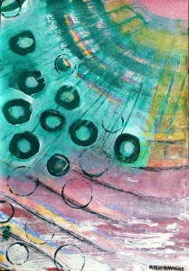 """Jewel"" by Margo Humphries   ORIGINAL SOLD"