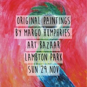 Margo Humphries Art Bazaar Lambton Park 29.11.15 arctic voodoo