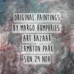 Margo Humphries Art Bazaar Lambton Park 29.11.15 galaxy
