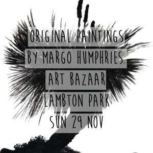 Margo Humphries Art Bazaar Lambton Park 29.11.15 grasstree