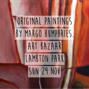 Margo Humphries Art Bazaar Lambton Park 29.11.15 ingredients