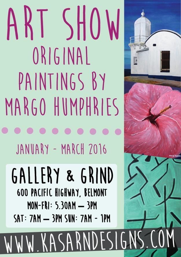 Margo Humphries Gallery & Grind Jan-Mar 2016 A5