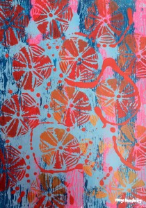 """Sand Dollars 3"" by Margo Humphries. Size A2. Unframed $30"