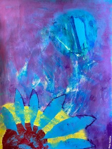 """IMG 2021"" original painting by Margo Humphries"